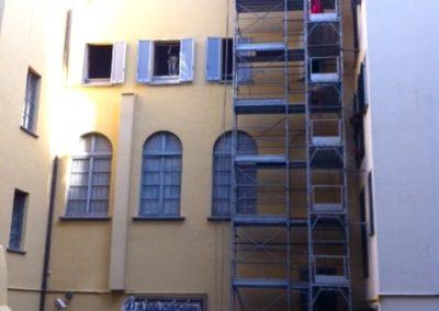 Manutenzione palazzo Visconti