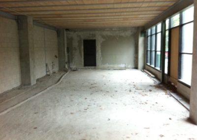 Ristrutturazione pavimento magazzino