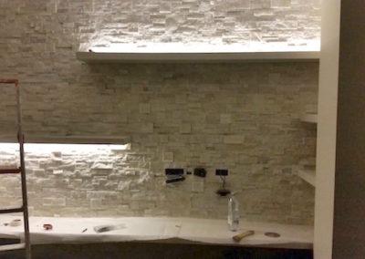 Casa privata a Voghera – Quarzite bianca